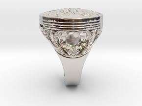 Piston Baroque in Platinum