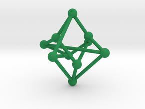 Petersen Graph in Green Processed Versatile Plastic
