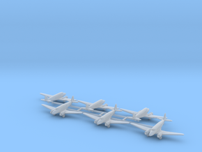 """Nakajima Ki-34 """"Thora"""" 1/600 in Frosted Ultra Detail"""