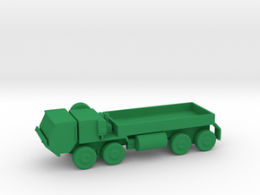 1/200 Scale HEMIT M-977 Truck in Green Strong & Flexible Polished