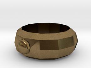 Mega Ring in Natural Bronze