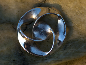 All is one (25mm) in Polished Silver