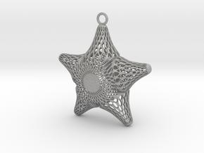 Snowflake Diatom in Aluminum