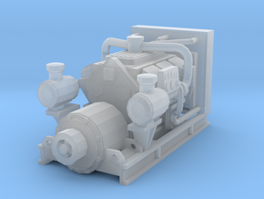 1/50th Diesel Electric Generator in Smooth Fine Detail Plastic