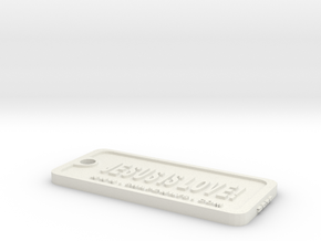 Tag-9-vc in White Natural Versatile Plastic