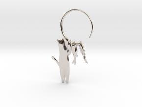 Fishing Cat in Platinum