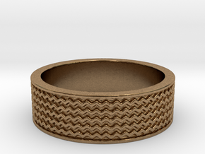 RING  in Natural Brass: 8 / 56.75