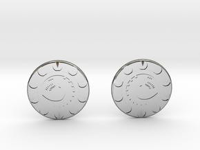 Knopf grop in Premium Silver