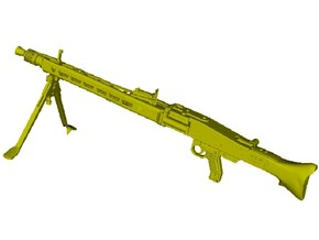 1/12 scale WWII Wehrmacht MG-42 machinegun x 1 in Frosted Ultra Detail