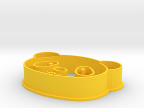 Pandahead Cookiecutter in Yellow Strong & Flexible Polished