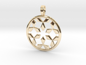 EMPTY SPACES in 14K Yellow Gold