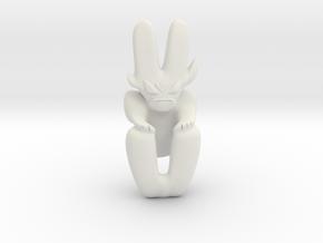 Artifact 5 in White Natural Versatile Plastic