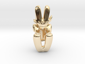 Artifact 5 in 14k Gold Plated Brass