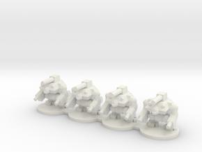 Hobgoblin War Robot in White Natural Versatile Plastic