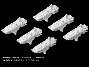 (Armada) 6x Atmospheric Assault Lander in Smooth Fine Detail Plastic