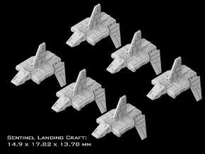 (Armada) 6x Sentinel Landing Craft in Frosted Ultra Detail