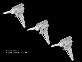 (Armada) 3x Theta Shuttle in Smooth Fine Detail Plastic
