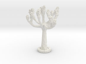 HONA04 Tree in White Natural Versatile Plastic