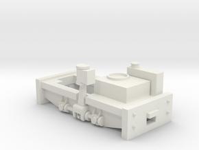 Bachmann Shay Frame in White Natural Versatile Plastic