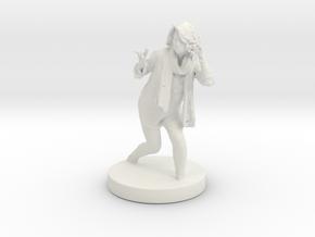 Printle C Femme 009 in White Natural Versatile Plastic: 1:32