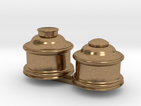 Upgrade Baldwin Domes for Bachmann 4-4-0 in Raw Brass: 1:87 - HO