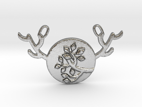 Horned Moon Summer by ~M. in Natural Silver