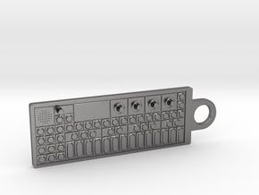 OP-1 Keychain / Pendant in Polished Nickel Steel