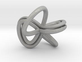 1 Inch Cut Mobius in Aluminum