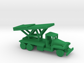 1/144 Scale CCKW Rocket Truck in Green Strong & Flexible Polished