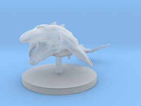 1 Inch Mega Whale in Smooth Fine Detail Plastic