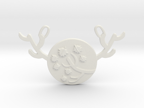 Horned Moon Autumn by ~M. in White Natural Versatile Plastic