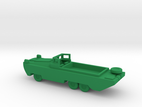 1/200 Scale DUKW in Green Strong & Flexible Polished