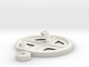 Gears! in White Natural Versatile Plastic