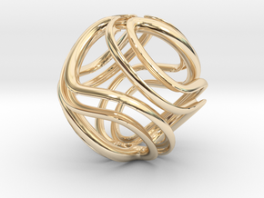 Twisted Infinite in 14K Yellow Gold