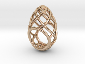 Ovo Ring 53-61 in 14k Rose Gold
