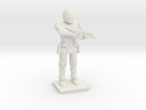 Peacekeeper (The Hunger Games Trilogy), 1/64 in White Natural Versatile Plastic