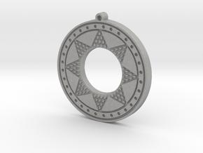 Ancient Sun (solid, incised design) in Aluminum