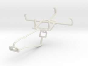 Controller mount for Xbox One Chat & Vodafone Smar in White Natural Versatile Plastic