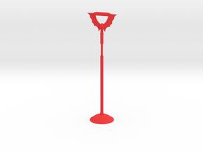 Tall Horde Bird perch in Red Processed Versatile Plastic