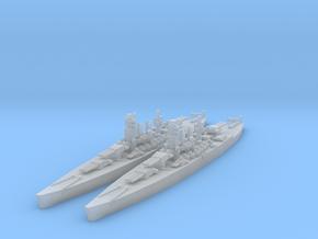 Littorio class battleship in Smooth Fine Detail Plastic