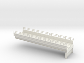 MARKET EL RAMP PT2 HO SCALE in White Natural Versatile Plastic