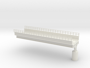 HO scale Elevated West PHL 12 in White Strong & Flexible