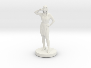 Printle C Femme 023- 1/72 in White Strong & Flexible