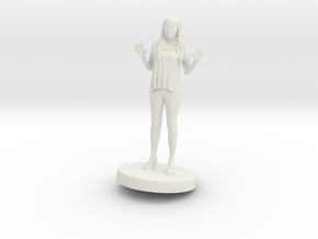 Printle C Femme 028- 1/43 in White Strong & Flexible