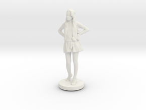 Printle C Femme 035- 1/72 in White Strong & Flexible