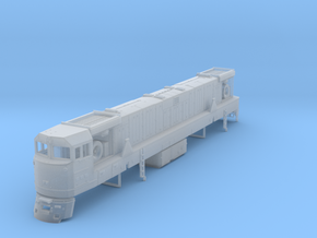 U50 Locomotive N scale in Frosted Ultra Detail