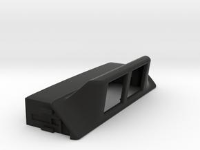 NSX display housing v01 in Black Natural Versatile Plastic