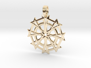 DIVINE JUSTICE in 14K Yellow Gold