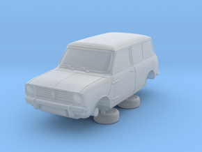 1-76 Austin Mini 74 Estate in Smooth Fine Detail Plastic