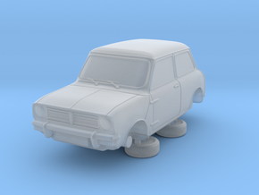 1-76 Austin Mini 74 Saloon in Smooth Fine Detail Plastic